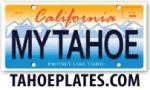 Lake Tahoe License Plates
