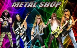 """Hair Band Tribute"" Metal Shop at Crystal Bay Casino"