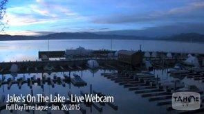 Tahoe Timelapse: Jake's On The Lake - Jan. 26, 2015