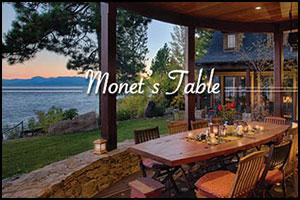 North Tahoe Arts Presents 'Monet's Table' Fundraiser