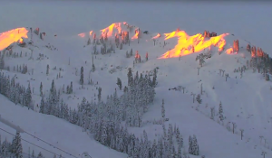 Tahoe Time Lapse: Opening Day on KT-22