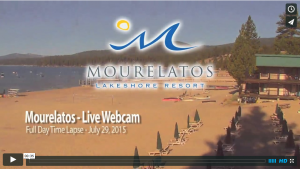 Tahoe Vista - Mourelatos Resort - Live - Webcam Time Lapse