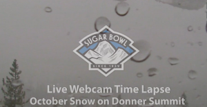 Tahoe Time Lapse: Strong Storm Leaves Snow At Sugar Bowl