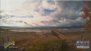 Tahoe Time Lapse: Cloud Racing Over Lake Tahoe