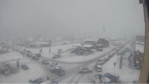 Tahoe Time Lapse: Downtown Truckee Snowstorm Jan. 6, 2019