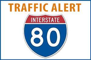 CalTrans Traffi Alert - I-80