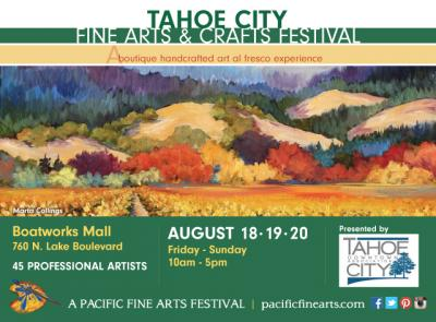 Tahoe City Fine Arts & Crafts Festival