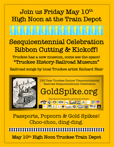 Truckee Railroad 150 Year Celebration