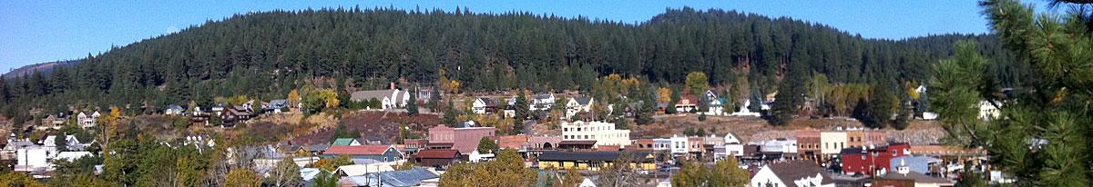 Fall in Historic Downtown Truckee