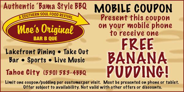 Moe's BBQ - Mobile Coupon