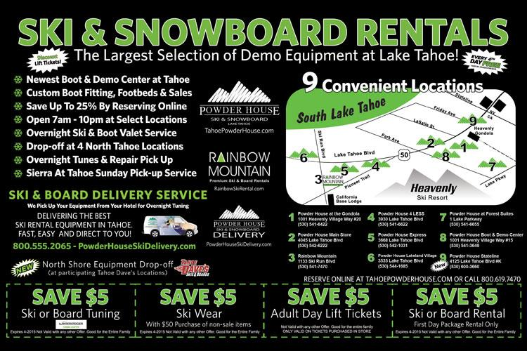 Powder House Save On Rentals