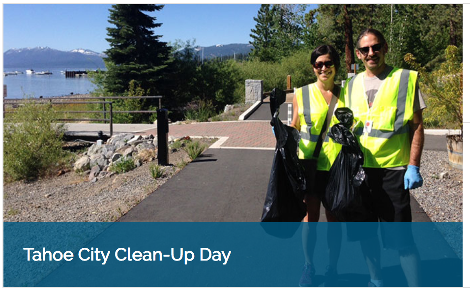 Tahoe City Clean Up Day