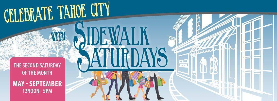 Tahoe City Sidewalk Saturdays - Summer Shopping and Fun In Tahoe City