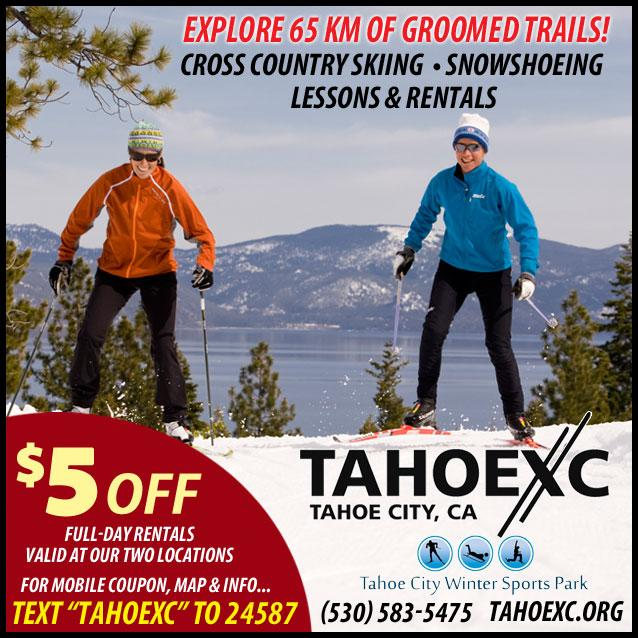 Save on Rentals at Tahoe XC - Tahoe Cross Country