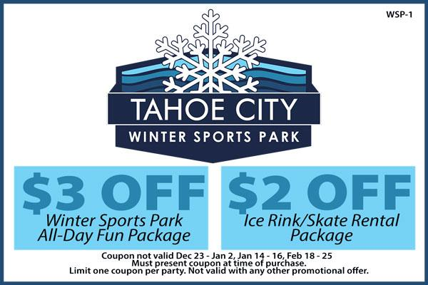 Tahoe City Winter Sports Park Coupon - Save!