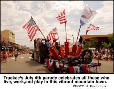 Truckee July 4th Parade