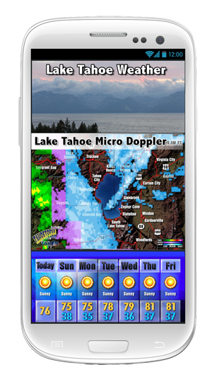 Tahoe TV Lake Tahoe App screenshot - Andriod