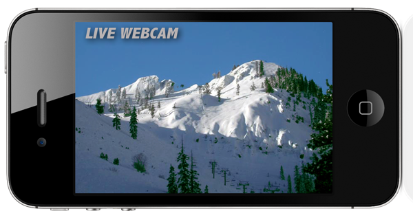 Tahoe TV Lake Tahoe App screenshot - Webcam