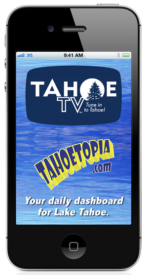 Tahoe TV Lake Tahoe App screenshot